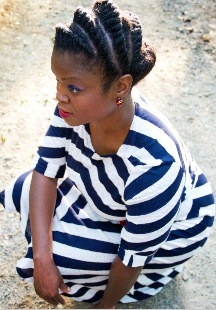 Flat Twist Tuck and Roll Natural Hairstyle | Natural hair styles, Natural hair styles easy ...
