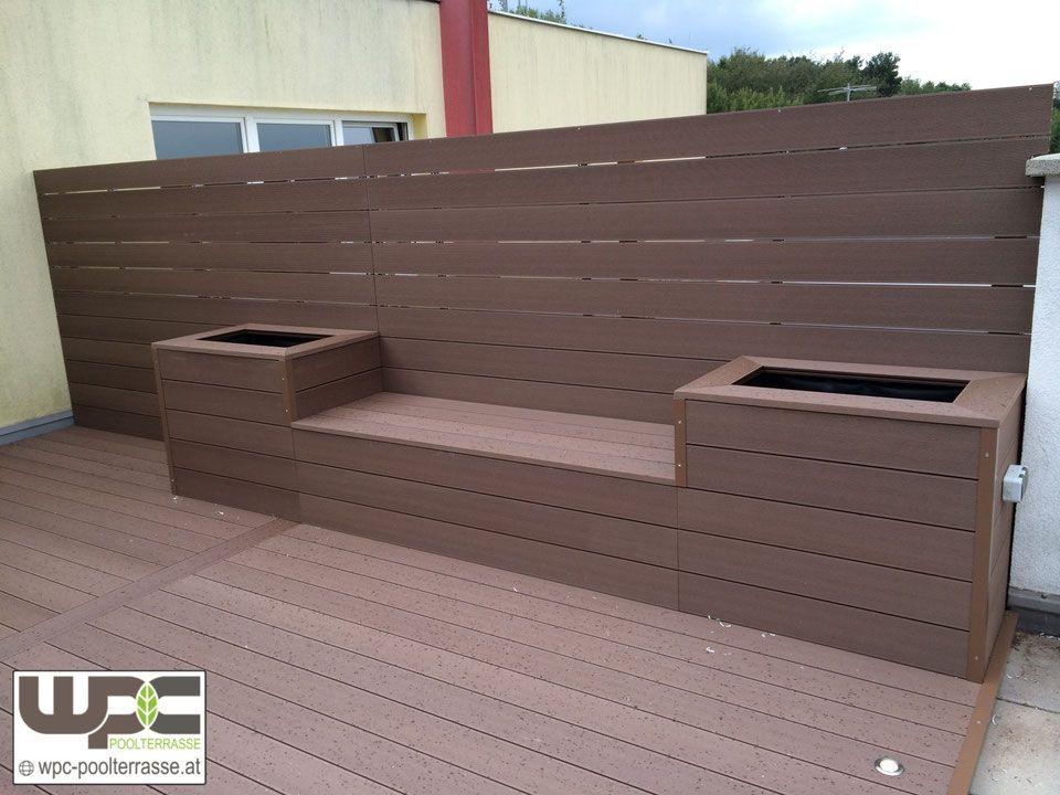 WPC Bambus BPC Terrassendielen Sichtschutz Windschutz