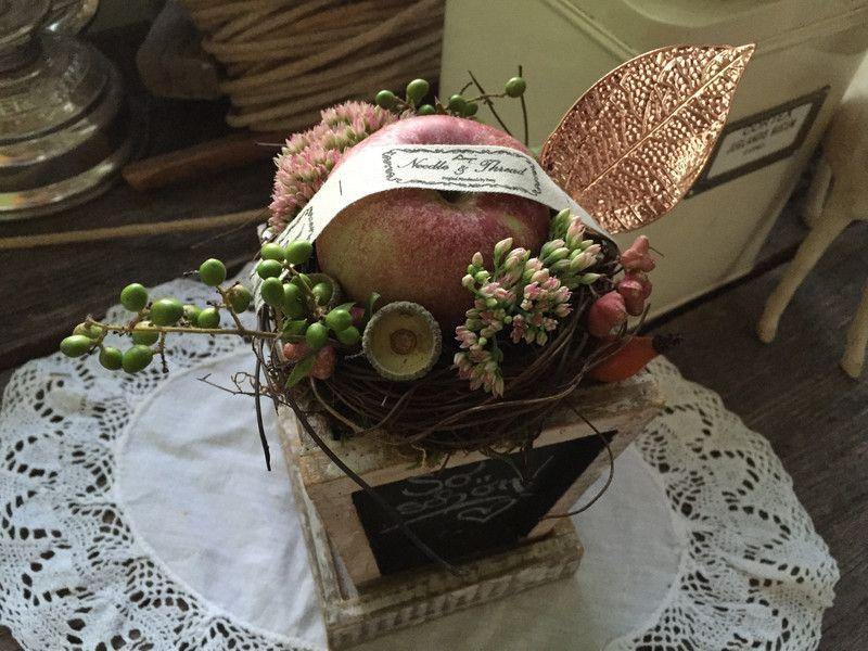 Geschenk vom herbst dekoration von frijda im garten for Idee geschenk garten
