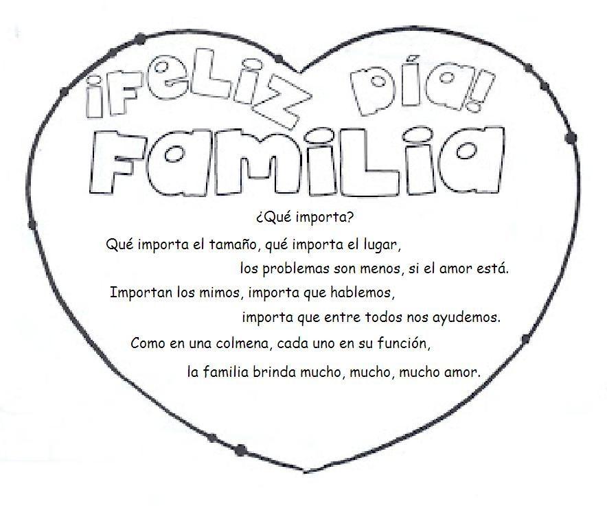 EDUCACIÓN FÍSICA ACTUAL: FELIZ DÍA DE LA FAMILIA | cosas útiles para ...