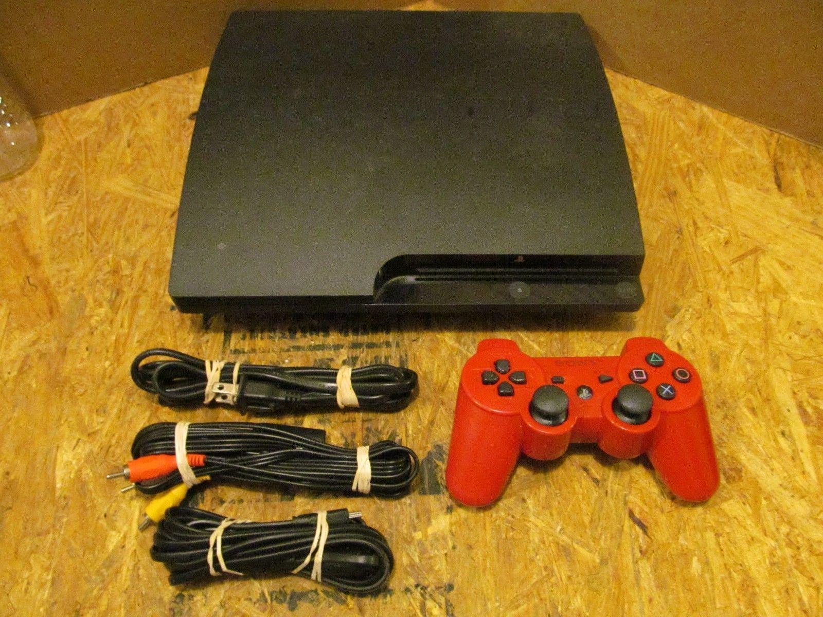 Sony PlayStation 3- (CECH-3001B) 320 GB Slim Console  (Lot 7050) https://t.co/I84A2x4w6H https://t.co/Vsg08TU8Mk