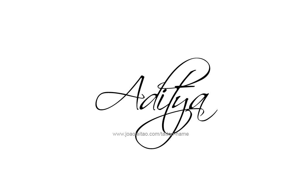 Aditya Name Tattoo Designs   Places to Visit   Name tattoo