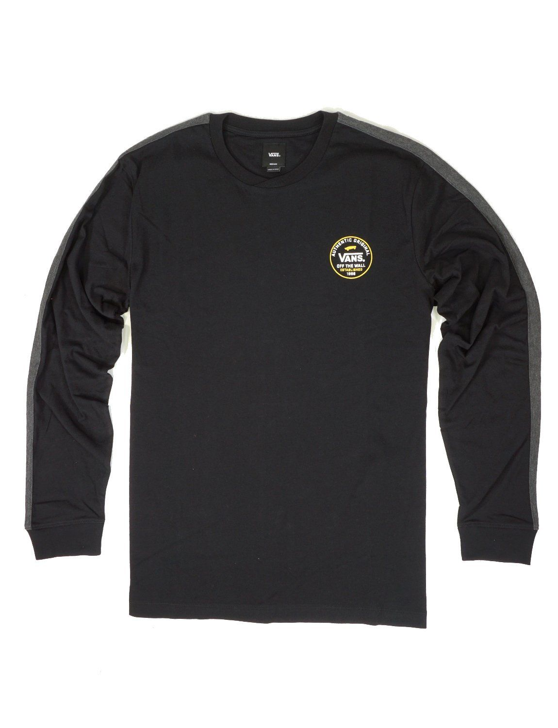 c7ce64fc Vans Original Classic Crewneck Long Sleeve T-Shirt in 2019 | New K ...
