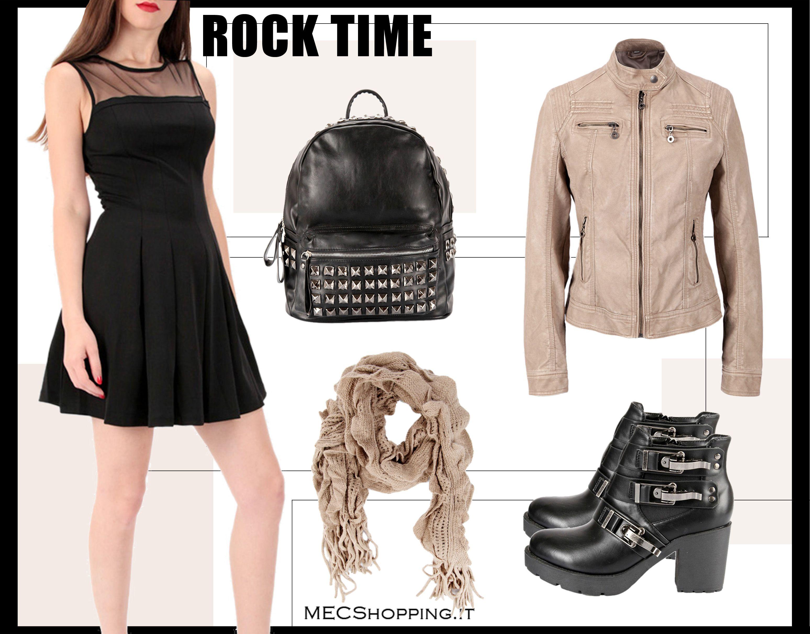 Rock time di MEC!  Vestito: http://www.mecshopping.it/shop/donna/abiti-vestiti/vestito-34678.html  Giacca:http://www.mecshopping.it/shop/donna/giacche-e-coprispalle/giacca-34284.html
