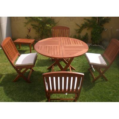 mesa jardin madera buscar con google