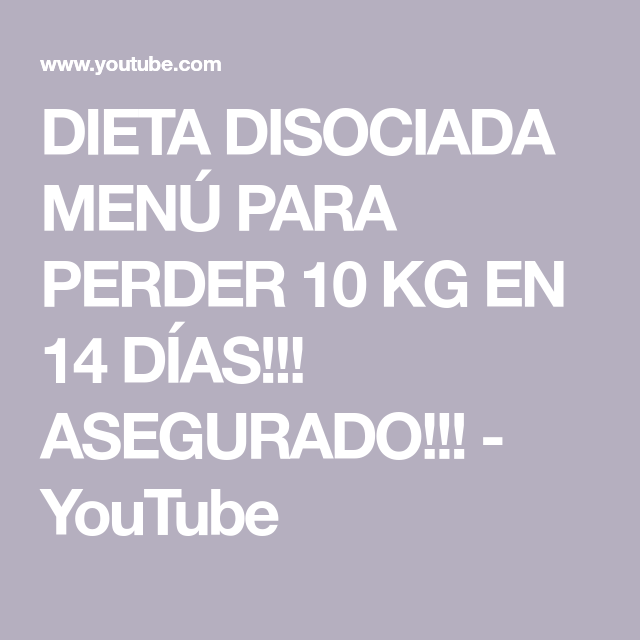 10 en para kilos bajar 14 dias dieta
