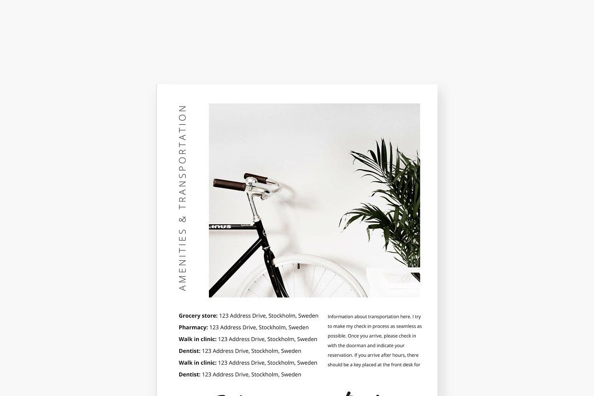 Airbnb Kit Template Word Doc Word doc, Airbnb