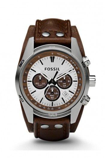 600d0e689ac9 Fossil Cuff Chronograph heren horloge CH2565