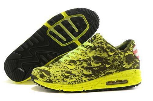 Nike Air Max Lunar 90 Sp Moon Landing Mens Shoes Yellow Black Discount