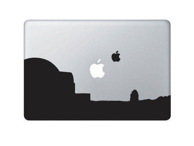 Creative macbook laptop decal sticker star wars tatooine macbook sticker
