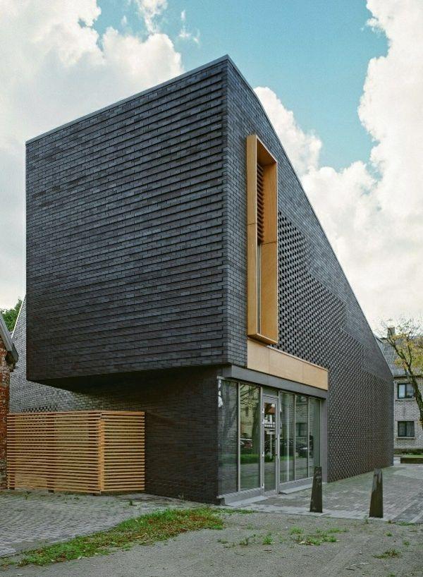 Moderne Fassadenverkleidung für einen eindrucksvollen