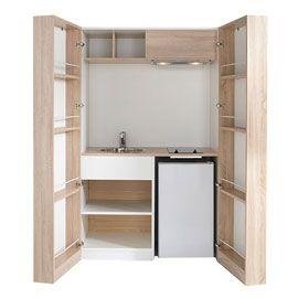 kitchenette nomade castorama tiny homes pinterest castorama espaces minuscules et espace. Black Bedroom Furniture Sets. Home Design Ideas