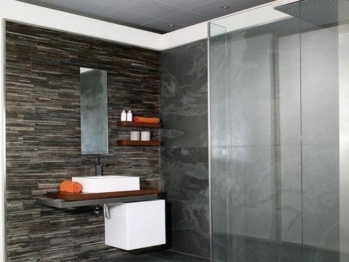 salle de bain ardoise - Recherche Google Home♡♥FutureGoals - salle de bain ardoise