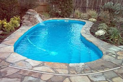 Perfect Pool Pools For Small Yards Pool Landscaping Swimming Pool Designs