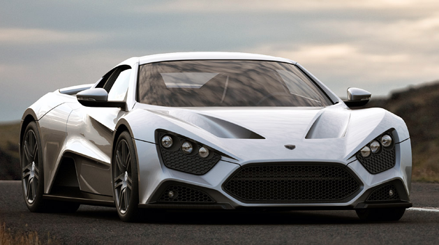 Danish Made Zenvo St1 One Of The Meanest Cars On Roads With Its Angry Stare