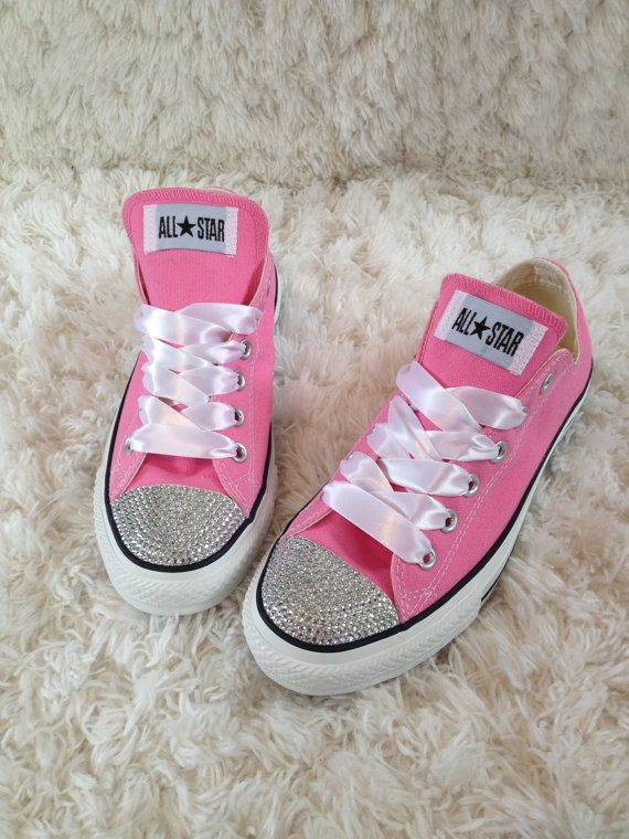 Bling d out allstar converse for your rockstar. by GirlyGlamFairy ... b57db127b