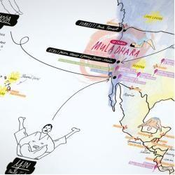 Photo of Yoga Map Weltkarte Awesome MapsAwesome Maps