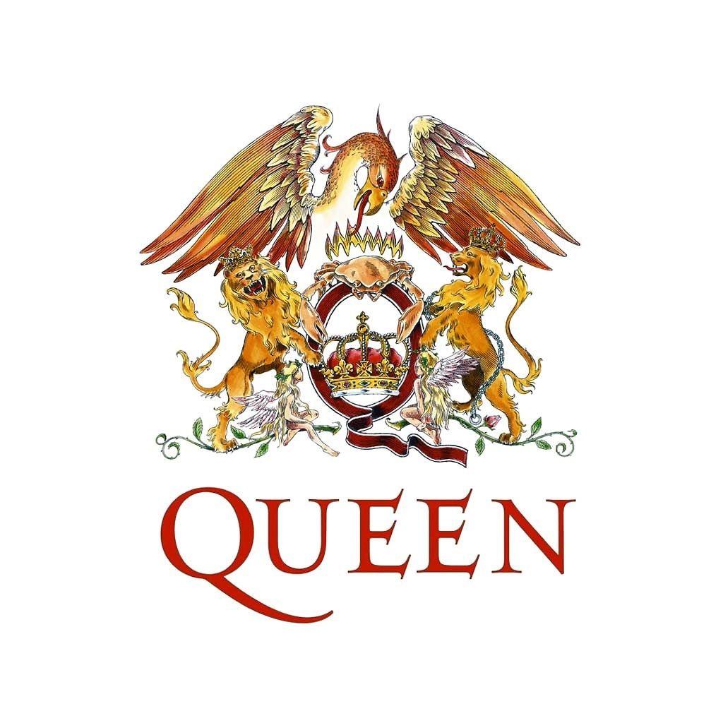 Queen Band Crest Wallpaper Queen Band Queens Wallpaper Freddie Mercury