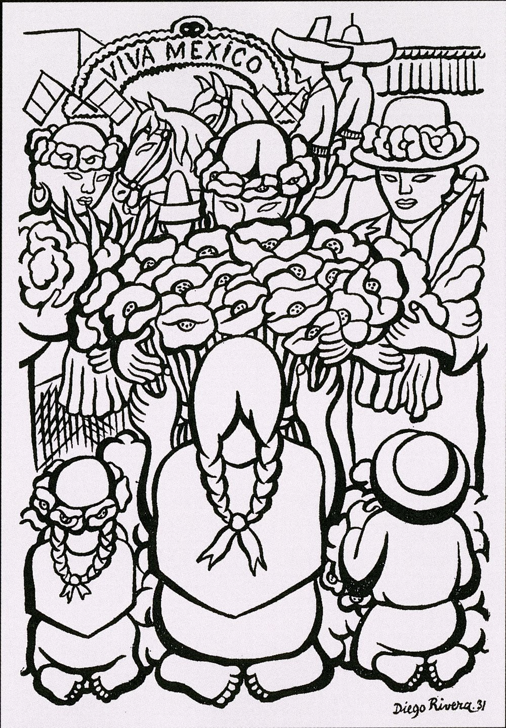 Adult Top Diego Rivera Coloring Pages Gallery Images cute 1000 images about espanol countriesculture on pinterest spanish speaking countries and latin america gallery images