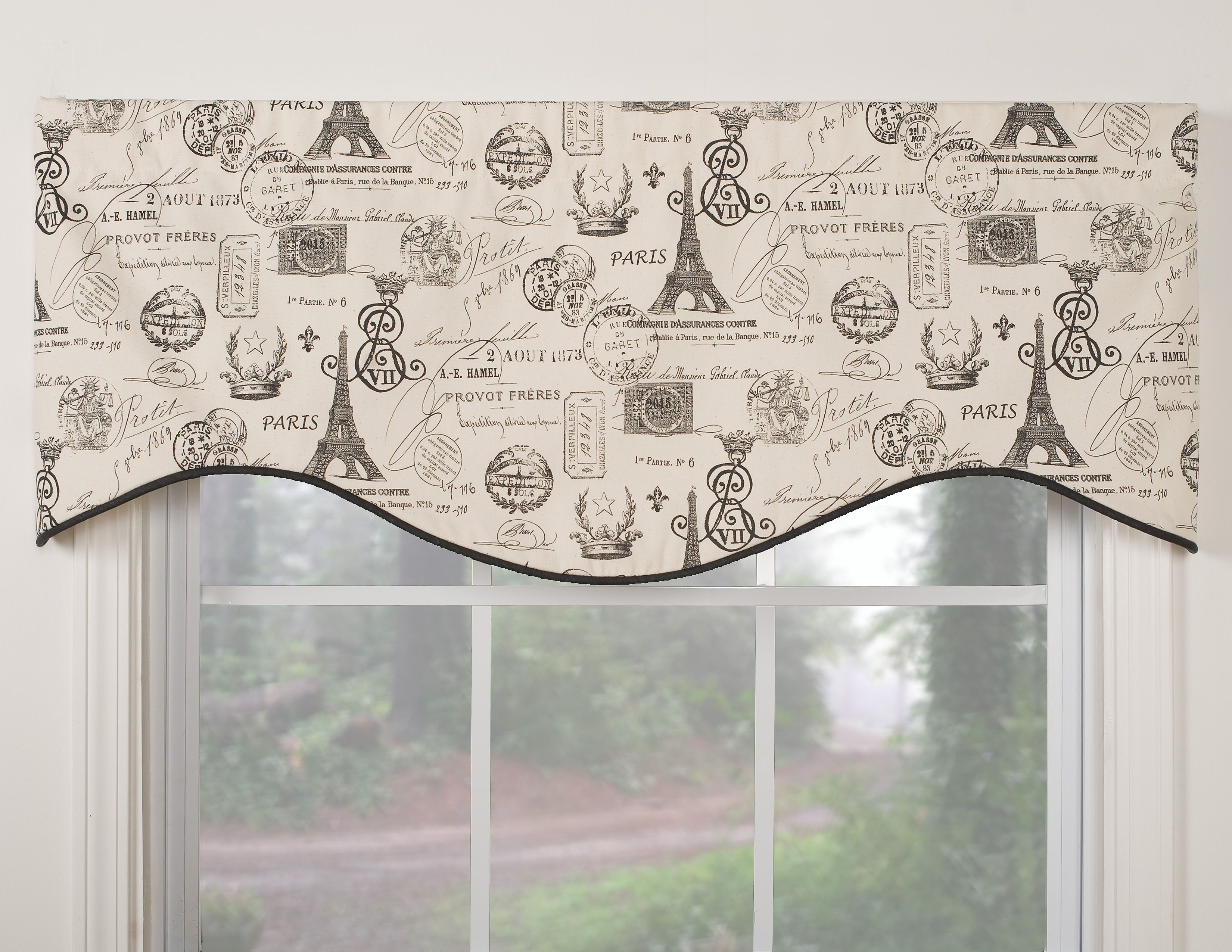 Midtown Shaped Valance Overstock Shopping