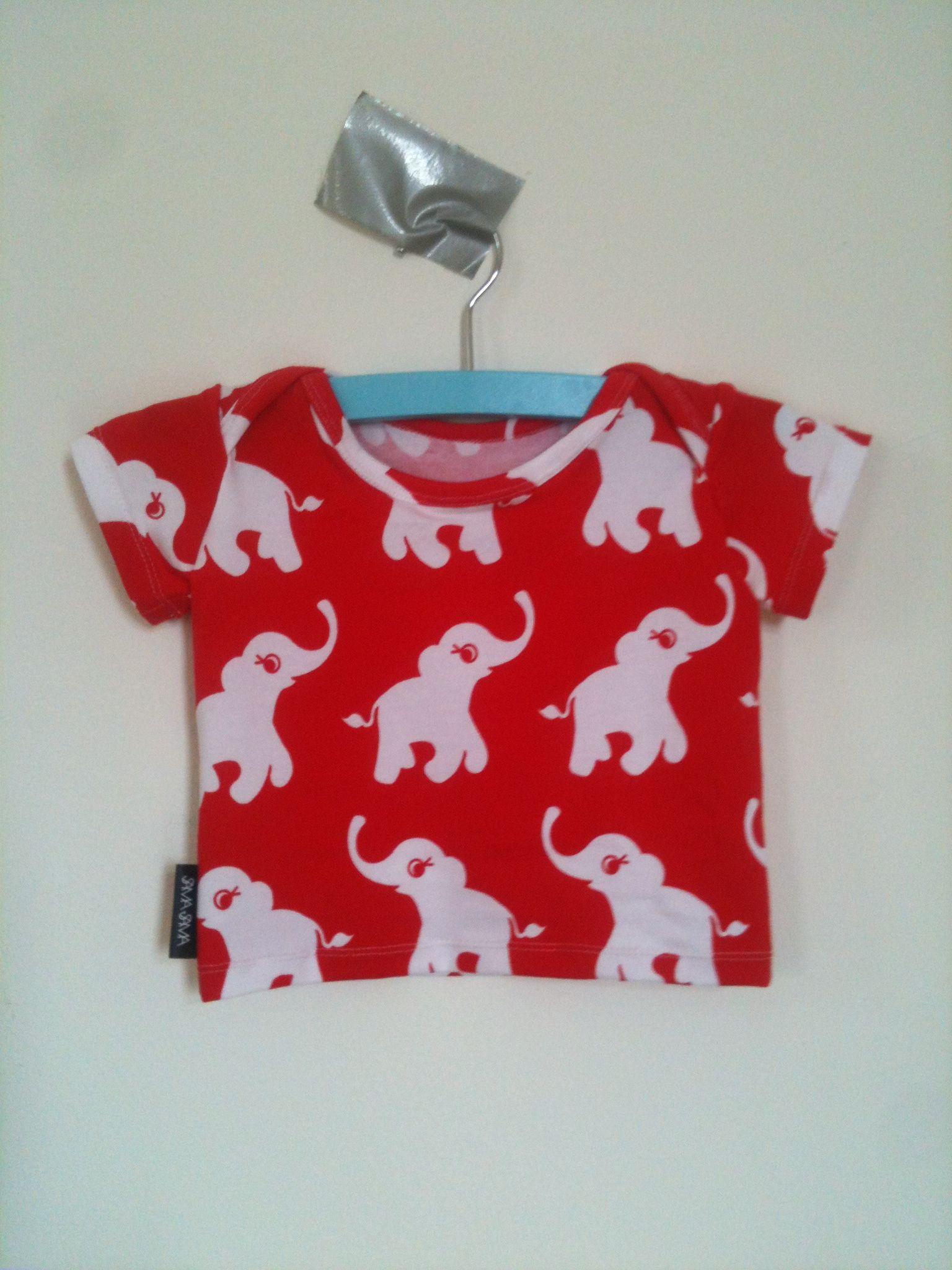Baby T-shirt, handmade to order