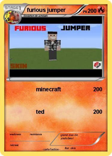 Furious jumper lol pinterest minecraft d co - Pokemon logo minecraft ...