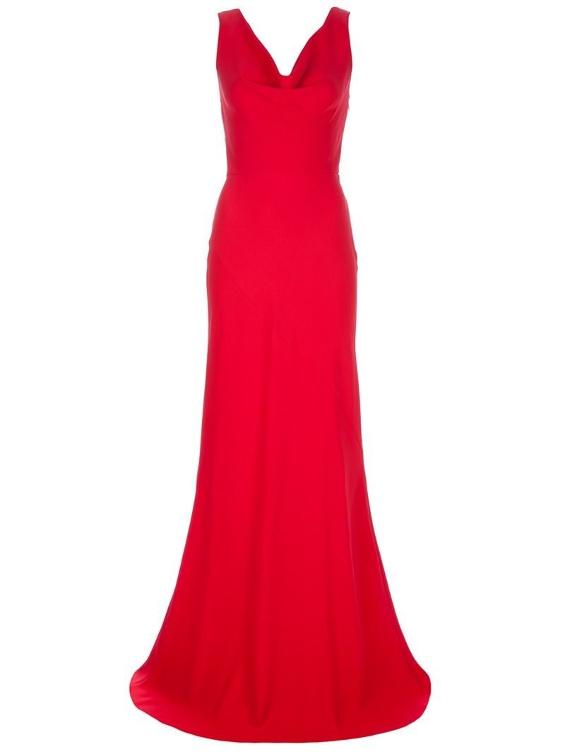 VALENTINO bow detail red maxi dress love it!!!!!!