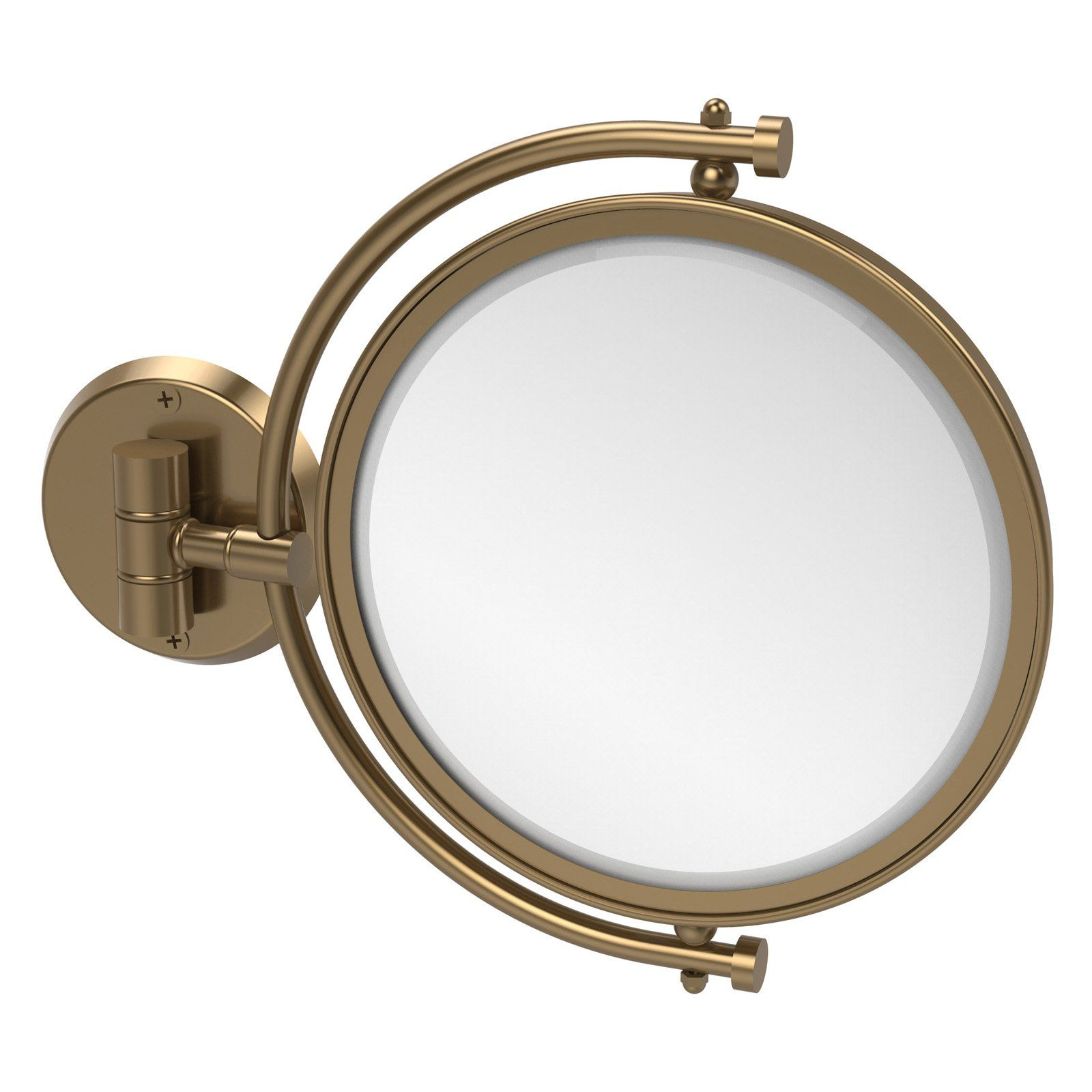 Allied Brass Wall Mounted Makeup Mirror with 5X