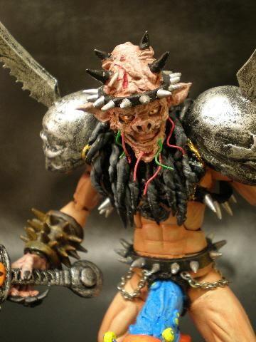 Oderus Urungus from GWAR Custom Action Figure