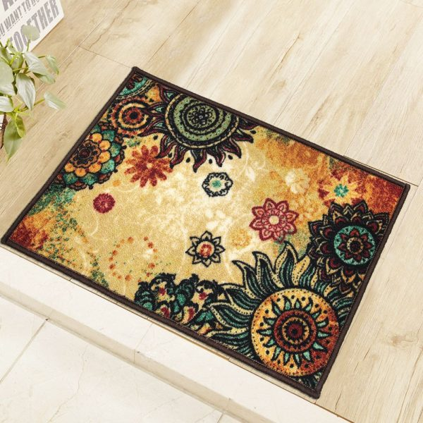 Bohemian Style Sunflower Rug Dealcage Great Store Great Choice In 2020 Textured Carpet Living Room Carpet Buying Carpet #sunflower #rug #for #living #room