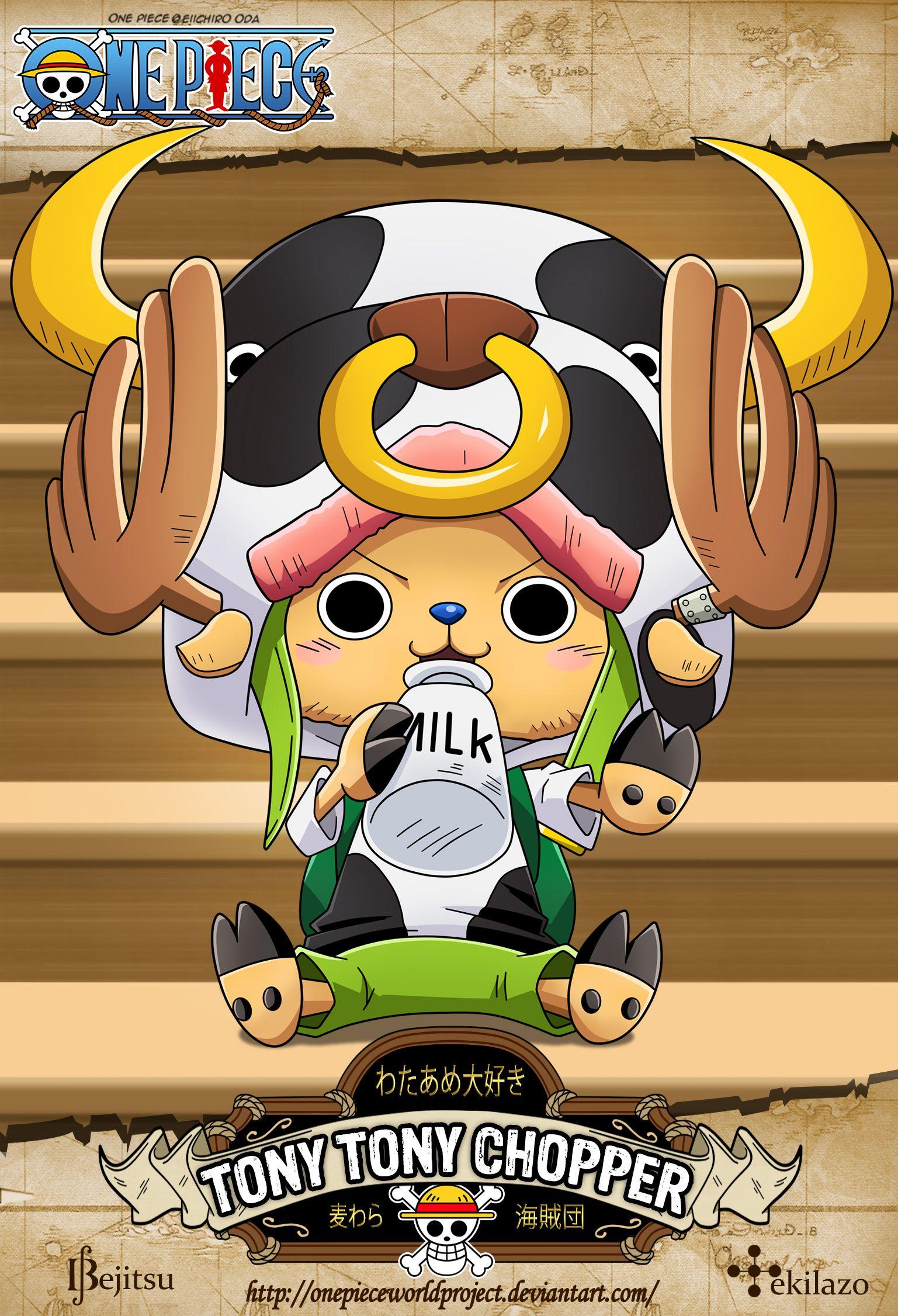 One Piece - Tony Tony Chopper by OnePieceWorldProject on DeviantArt