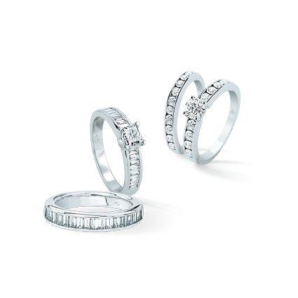 Duos de solitaires et alliances ARTEMIS et ARIA. #luxury #diamond #jewelry