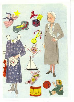 Paper Dolls: Paper Dolls for Christmas