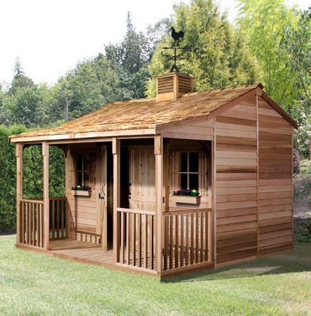 Add More Living Space In Your Back Yard With Our Eco Friendly Ranchhouse  Shed Kit,