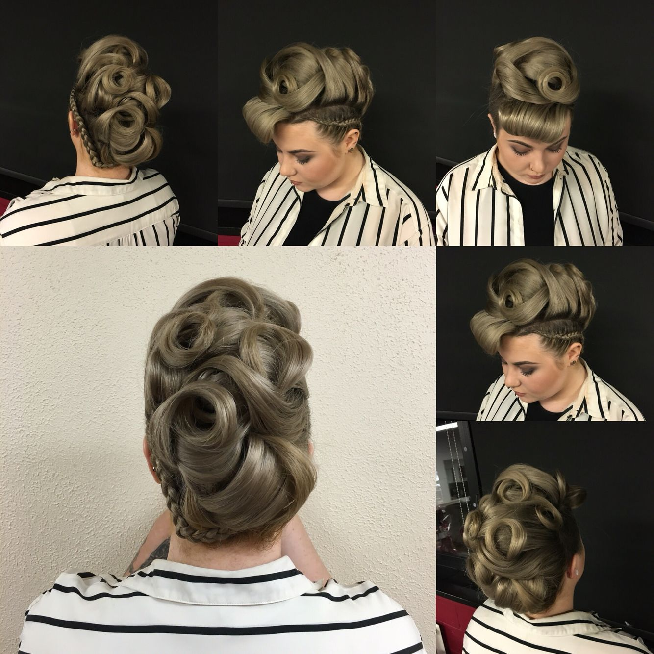 Creative Hair Up By Me Creative Hairstyles Up Hairstyles Hair Levels