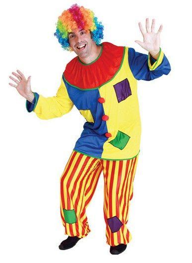 b67ec76d948ae Хэллоуин Удивительные цирковом шут Клоун Костюм для Взрослых хэллоуин  Унисекс Косплей одежда комбинезон Топ + Брюки