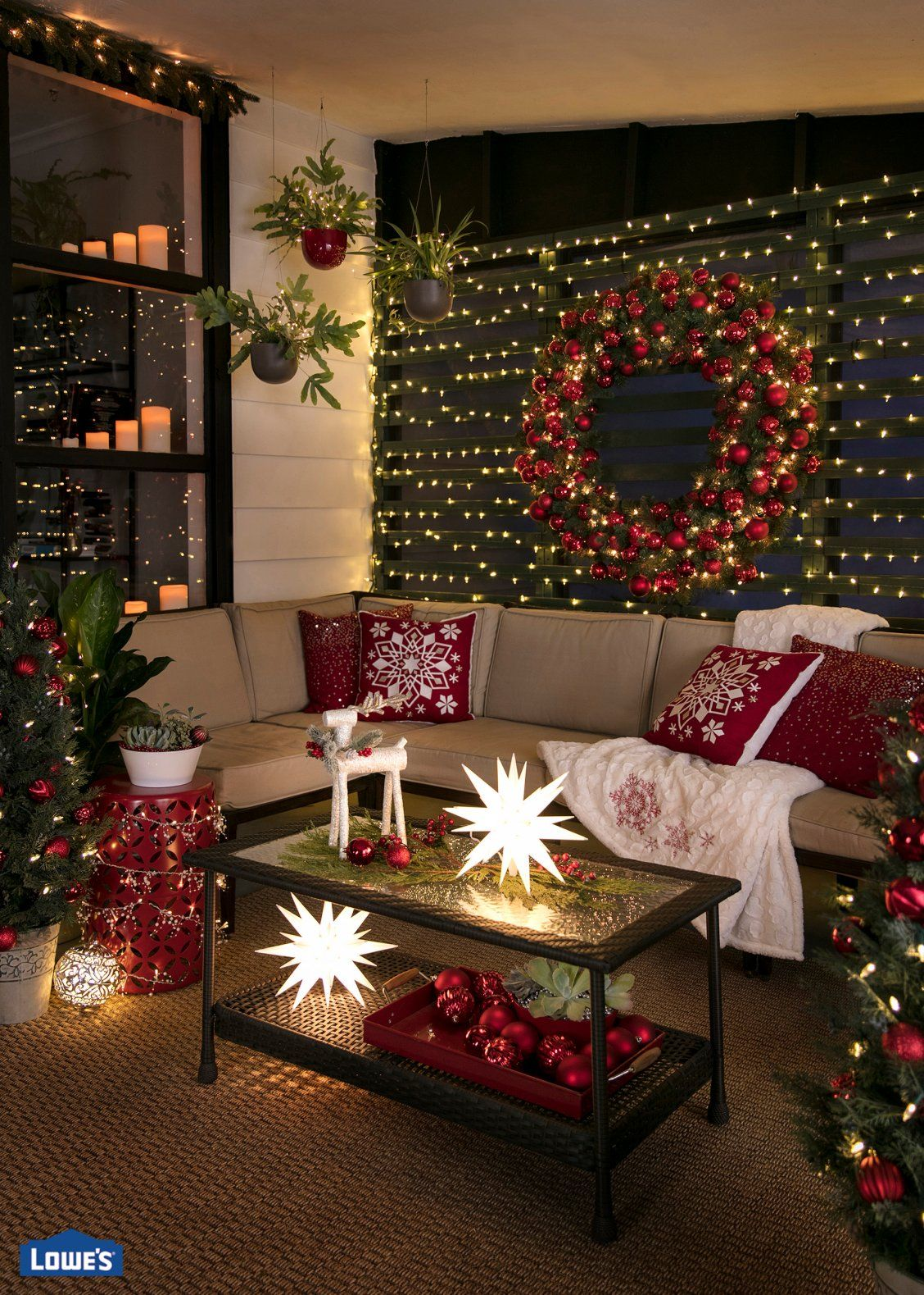 Make your screened porch glow this holiday season with these ...