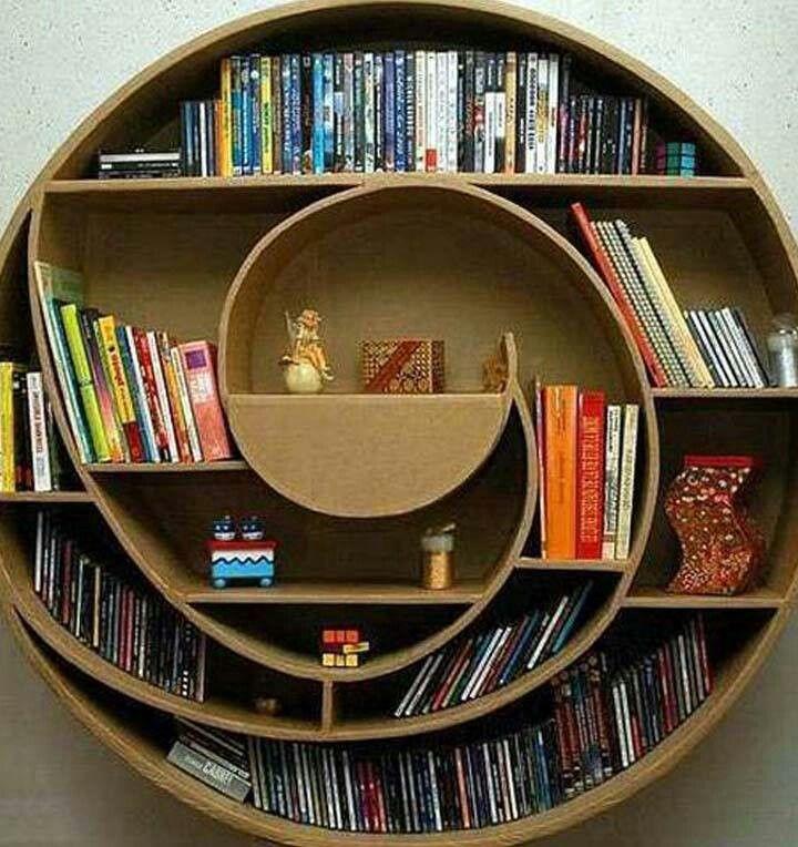La espiral de libros...