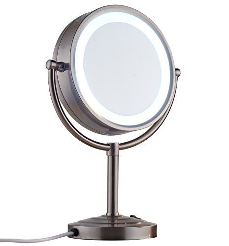 Cavoli 8 5 Inch Led Makeup Mirror With 10x Magnification