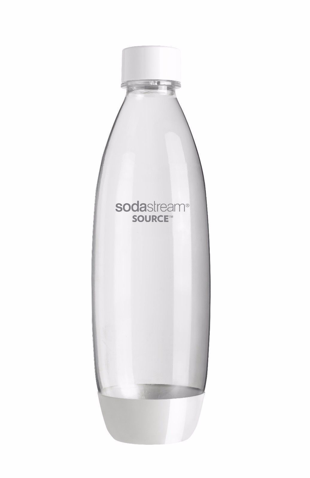 SodaStream Twinpack Fuse Carbonating Bottles 1 L Black