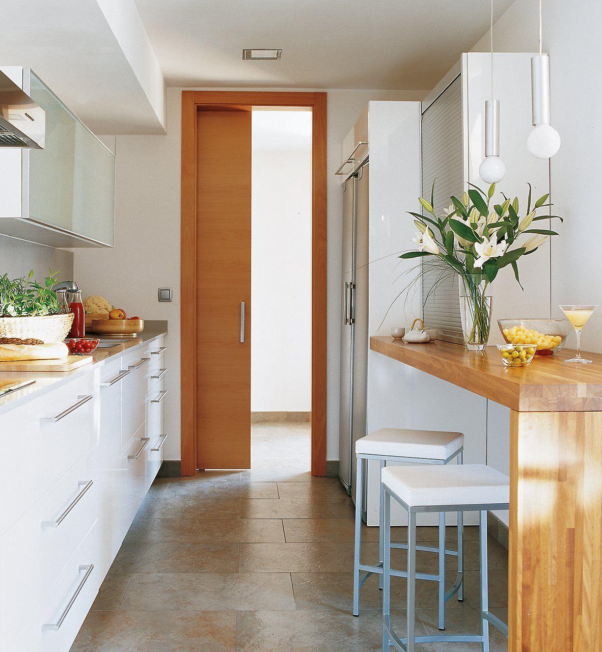 Los 9 mejores diseños de cocinas office | Cocinas pequeñas ...