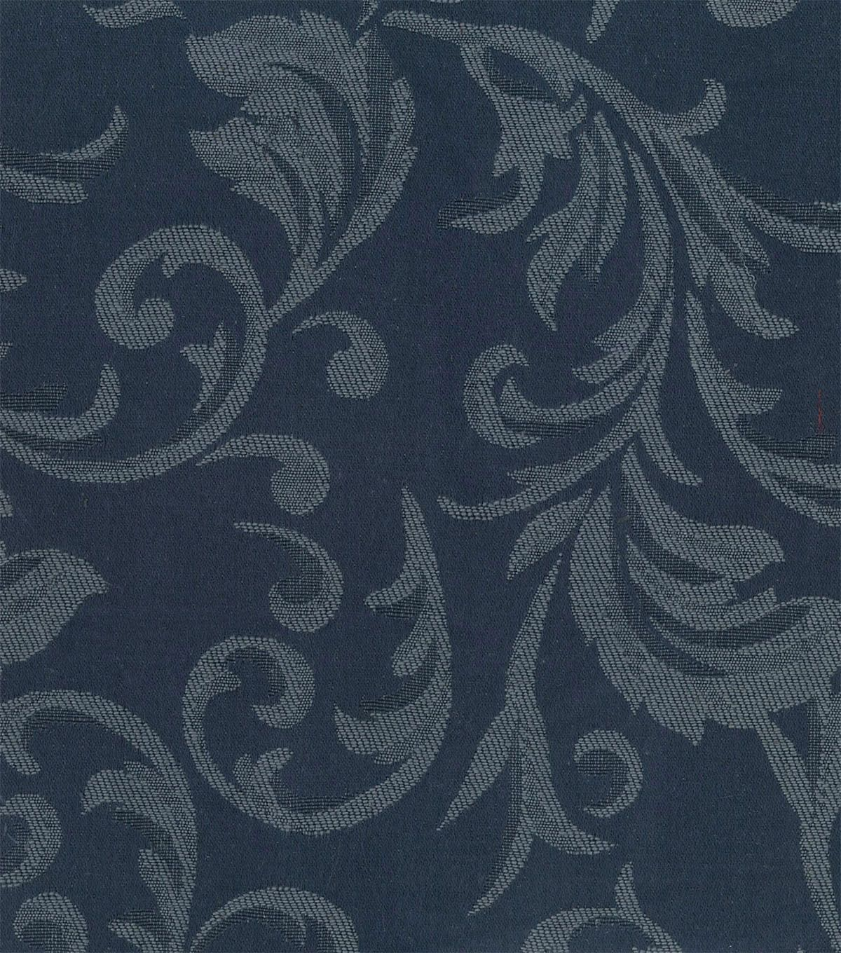 Signature Series Lightweight Decor Jacquard Fabric 54 Navy Fabric Decor Fabric Printing On Fabric