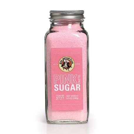 Sanding Sugar - 8.5 oz. Pastel Pink
