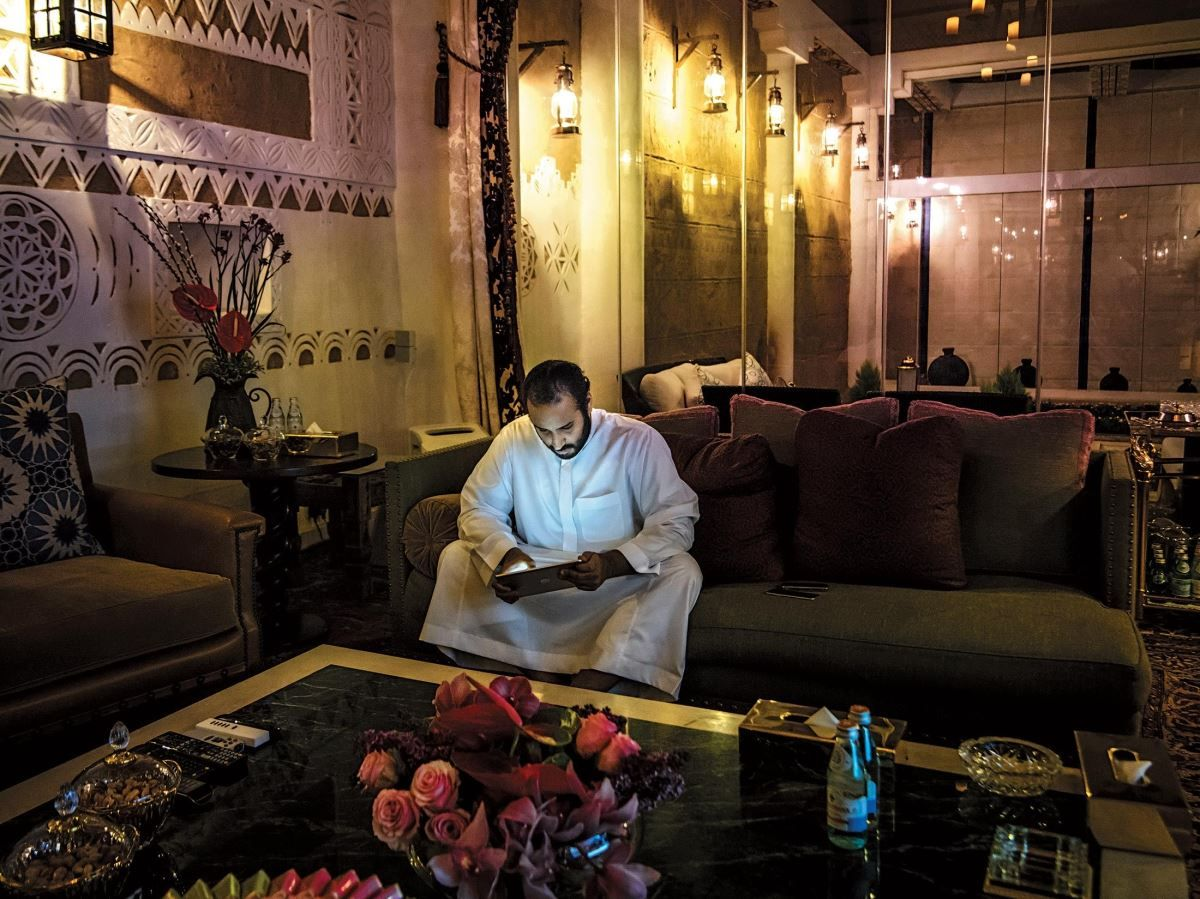 بلومبيرغ تنشر صورا من داخل قصر الأمير محمد بن سلمان Prince Mohammed Economy Saudi Arabia