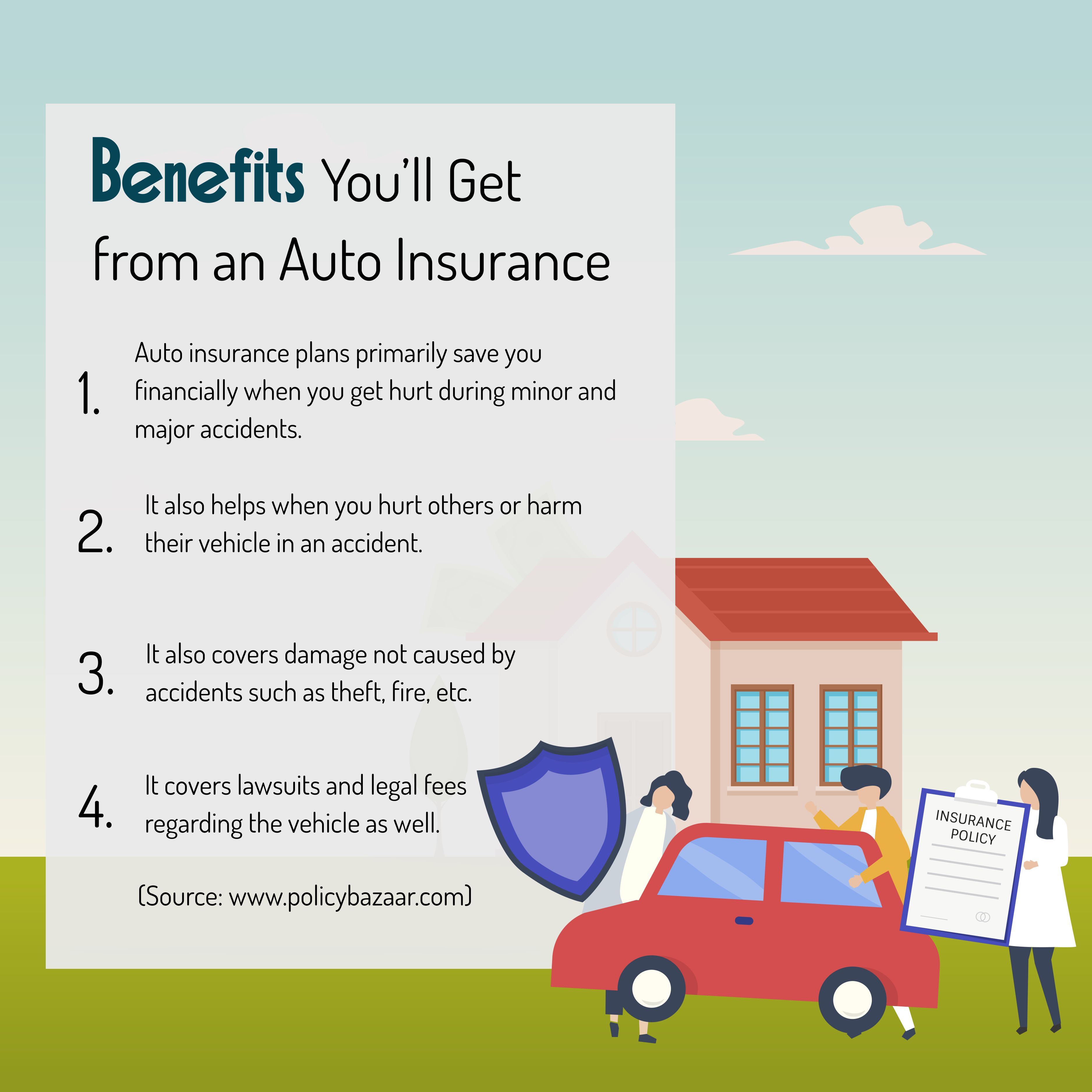 Benefits You Ll Get From An Auto Insurance Autoinsurance