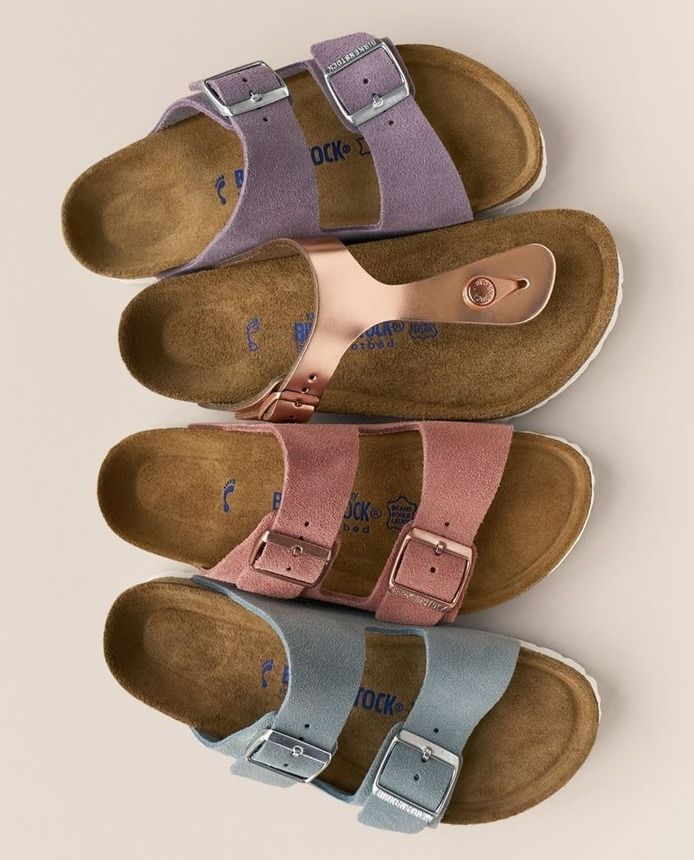 Zapatos plateado formales Birkenstock Arizona para mujer ATMb5KJDD