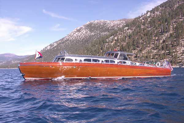 Thunderbird Boat 70th Year On Lake Tahoe
