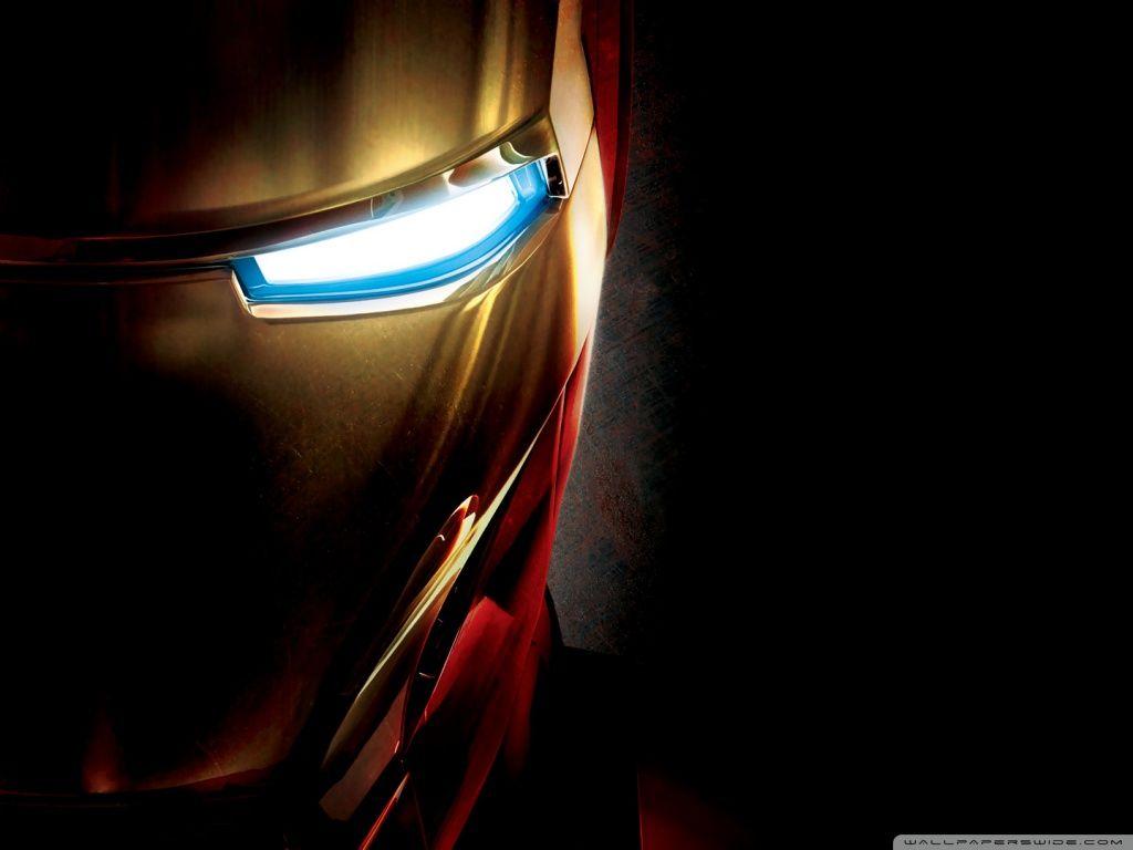 iron man eye hd desktop wallpaper : widescreen : high definition