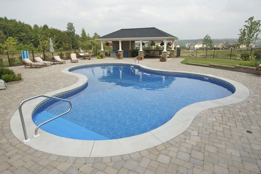 inground pools shapes. Inground Pool Liners Installed - #Liners #Pool Check More At Http:// Pools Shapes A