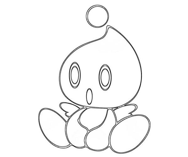 Sonic Chao Coloring Pages Coloring Pages Coloring Books Color